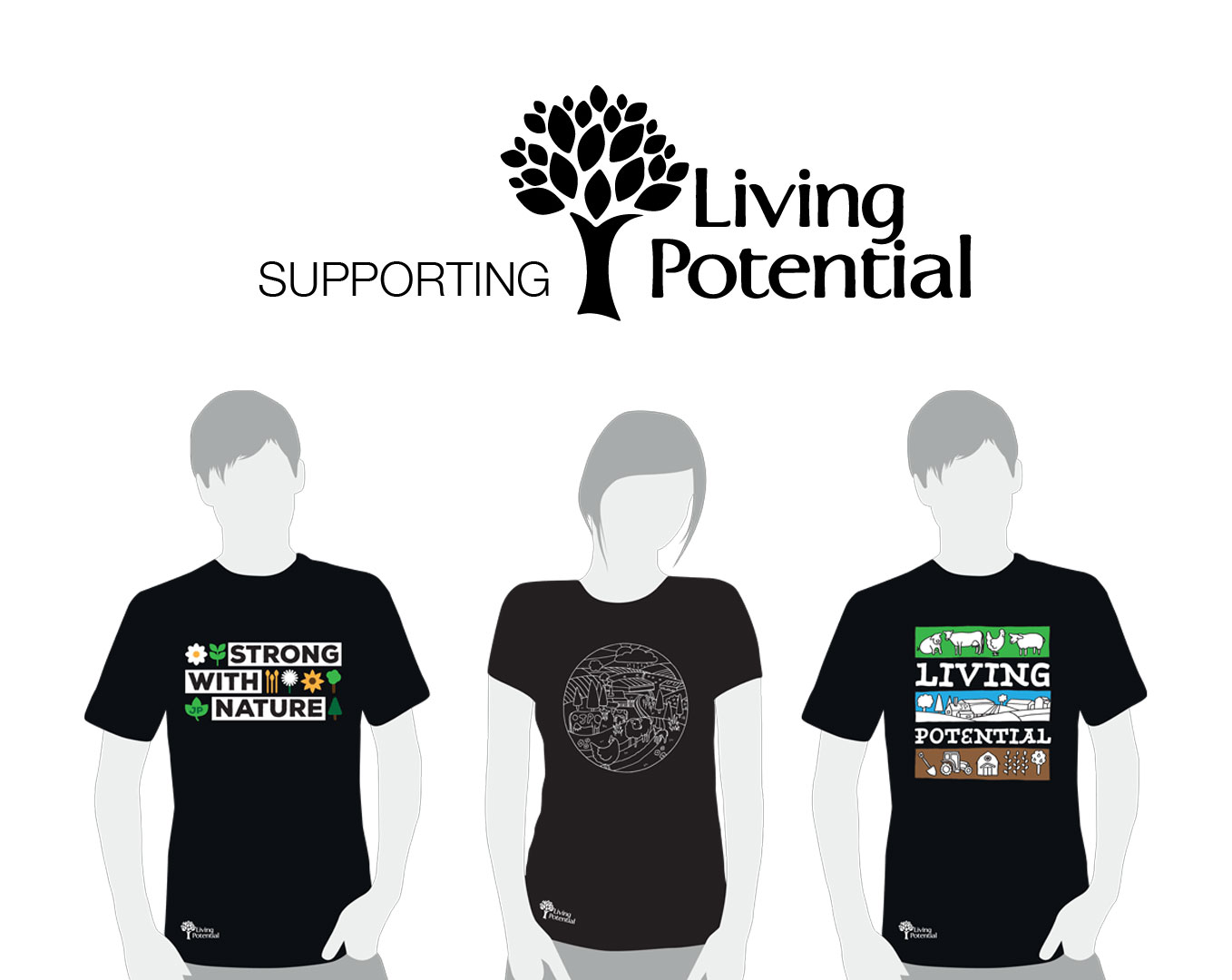 Joseph Port supporting Living Potential